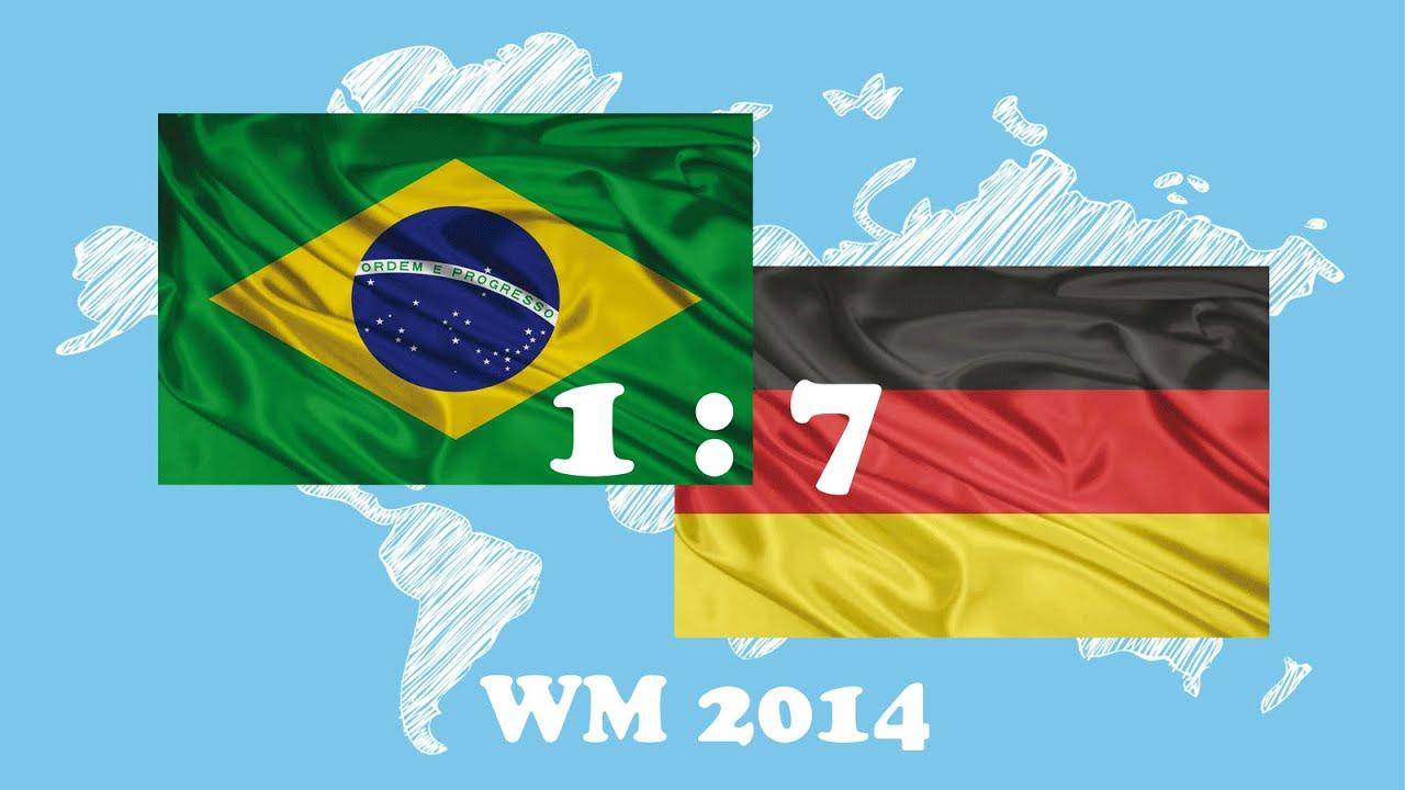 Brasilien Vs Deutschland Wm 2014 Alle Tore All Goals