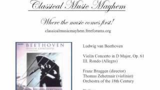 Beethoven - Violin Concerto in D Major, Op. 61: III. Rondo (Allegro)