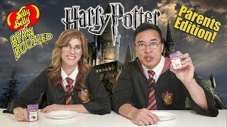 HARRY POTTER BEAN BOOZLED CHALLENGE!! PARENTS EDITION!  Bertie Bott