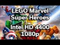 LEGO Marvel Super Heroes - HD 4400 - Game Performance - Intel i3-4170 - ASUS M32AD