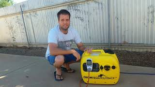Cromtech 2400w Inveter Generator Product Review