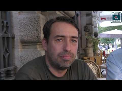 Flüchtlingshelfer Sven Liebich von HALLE LEAKS im Interview - Steuerzahler sind gefordert