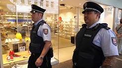 Ordnungsamt kontrolliert Maskenpflicht in der Freiburger Innenstadt