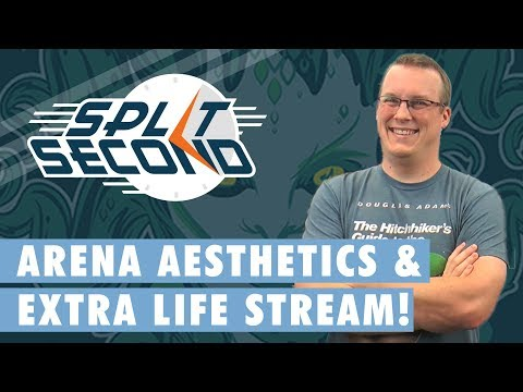 MTG Arena Aesthetics & Extra Life Stream! - Split Second - MTG News