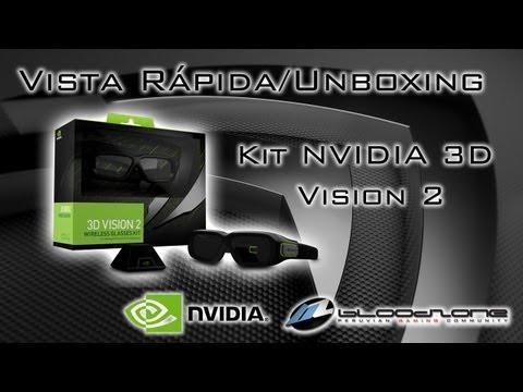 Vista Rápida: Kit NVIDIA 3D Vision 2