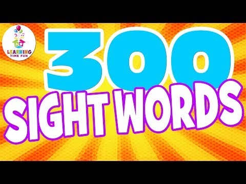 300-sight-words-for-kids!-|-learning-time-fun-|-high-frequency-words-|-popcorn-words-|-sight-words