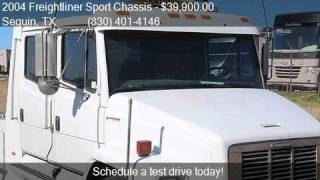 2004 freightliner sport chassis for sale in seguin tx 7815
