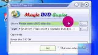 Magic DVD copier free