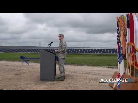 Apex Delivers Energy Independence for Our Military (Accelerate TV)