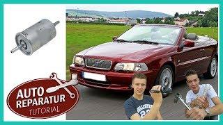 KRAFTSTOFFFILTER WECHSELN | Benzinfilter tauschen Volvo C70 V70 850