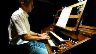 Recevez le corps du Christ André GOUZES Pierre ASTOR orgue Firminy