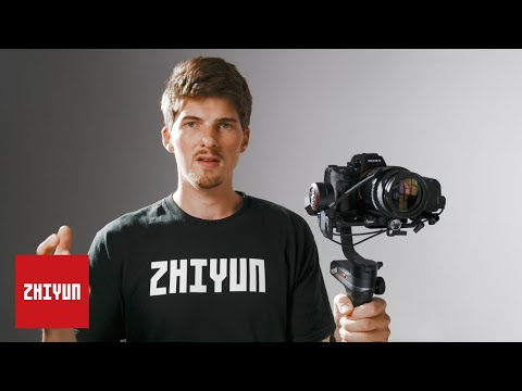 ZHIYUN TUTORIALS | Weebill-S Official Tutorial | E02 Setup and Menu Intro