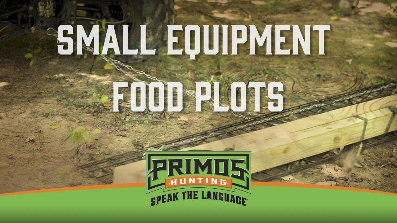 Small Equipment Food Plots Youtube