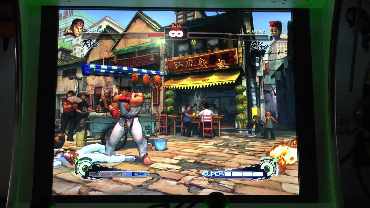 fighter 4 arcade machine