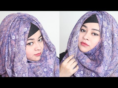 Easy Hijab Styles With Covered Chest For Everyday Classes And Office | Afrina Akter Hima