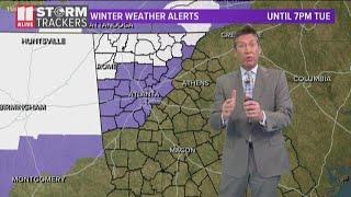 Winter weather possible in metro Atlanta for Super Bowl week