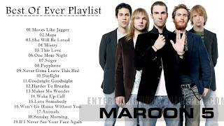 Maroon 5 Greatest Hits || Best Of Maroon 5 Songs [Music One]
