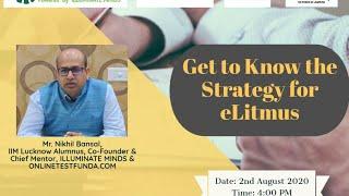 Strategy for ELITMUS | ILLUMINATE MINDS | An IIM Alumni Venture