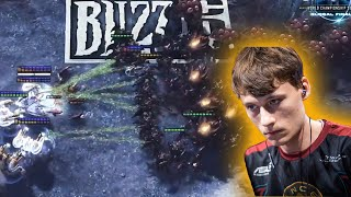 INSANE 200IQ Game Of 2 Legends - Starcraft 2: Serral vs Stats (Part 1)  Grand Finals
