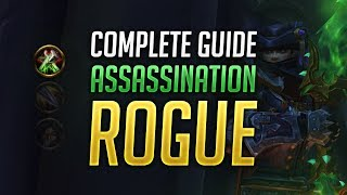Assassination Rogue PVE Guide for BFA Patch 8.0.1 - Best Talents, Stats, Gear, Rotation