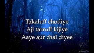 Don't Say Alvida - Lyrics & Translation