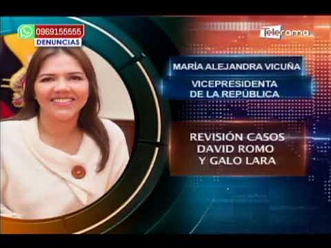Vicuña reiteró que defensoría del pueblo revisará casos David Romo y Galo Lara