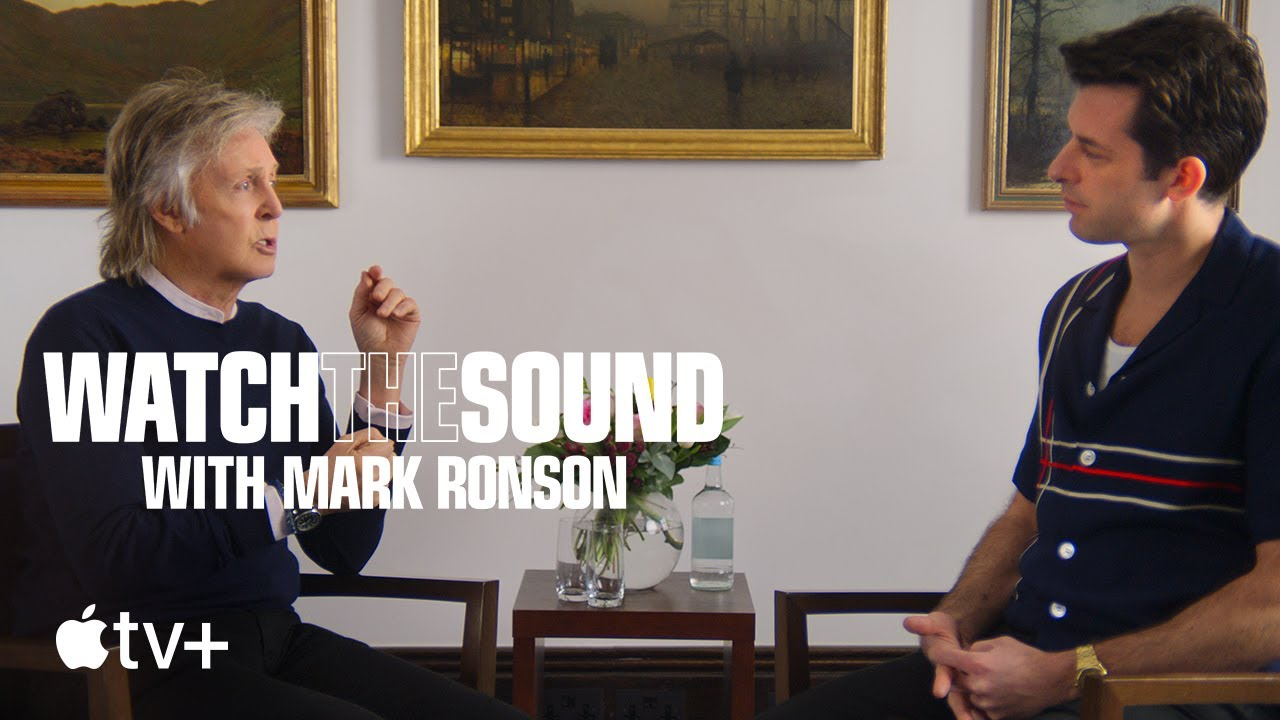 """NEWS: Mark Ronson and Apple TV+ Unveil Trailer For New Docuseries """"Watch The Sound With Mark Ronson"""""""