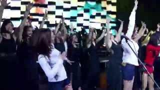 Белорусские песняры & Lipnitsky Show Orchestra (backstage)