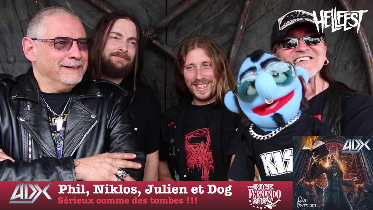 Download ADX - Hellfest 2016 - FERNANDO ROCK SHOW