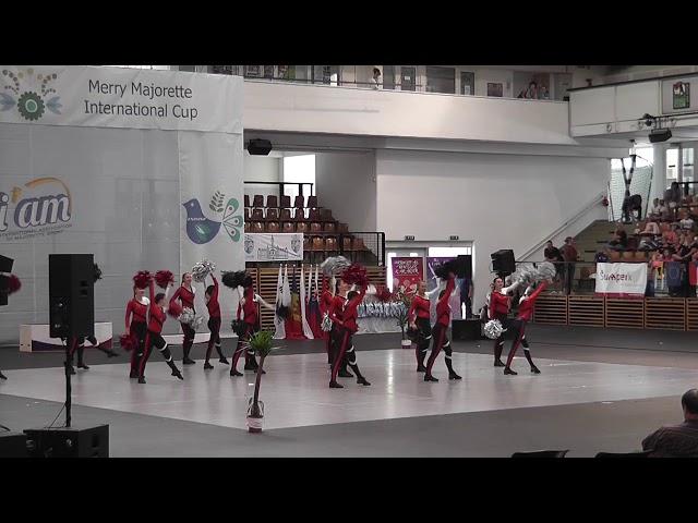 AP klub Brušperk - Top Teens / Mistrovství Evropy mažoretek 2019 Győr - POM senior