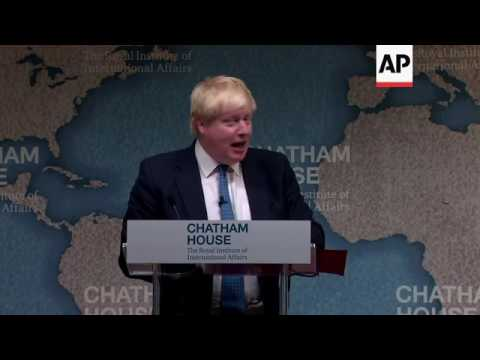 UK Foreign Secretary on Brexit, Syria, Russia