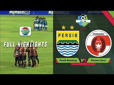 PERSIB Bandung (2) vs (2) PERSERU Serui - Full Highlight | Go-Jek Liga 1 bersama Bukalapak