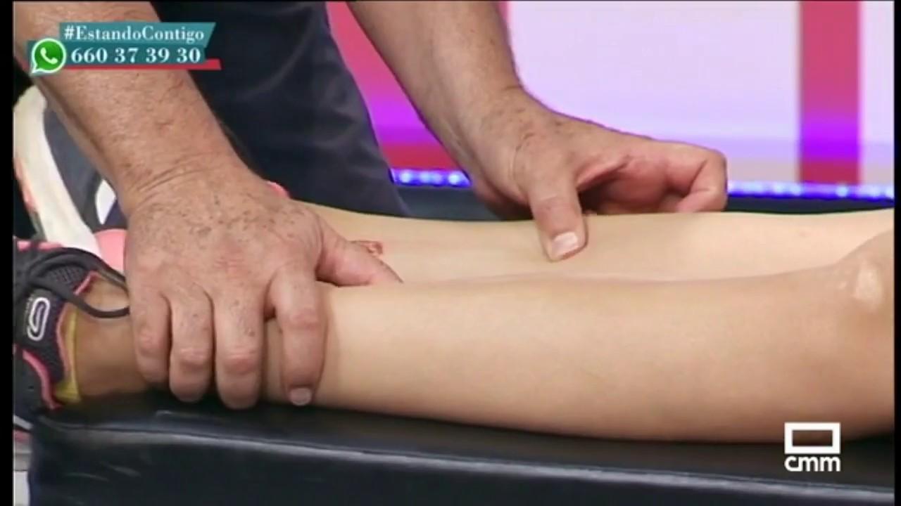 Circulacion piernas de en para acupuntura puntos