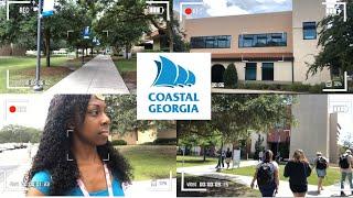 Vlog: CCGA (college of Coastal Georgia) mini campus tour + come to class w/me (pt 2)