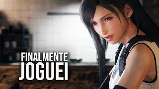 Final Fantasy VII Remake - FINALMENTE Joguei!!!