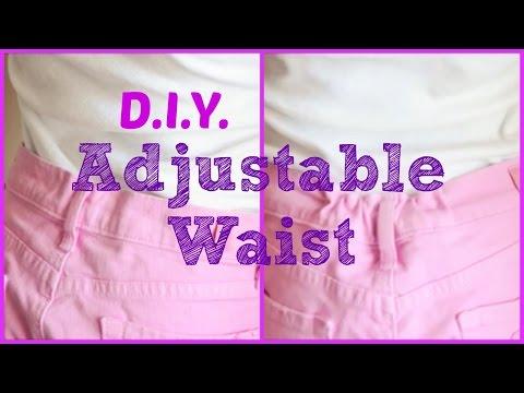 DIY Adjustable Waist (Sort Of) - Mommy Life Hack