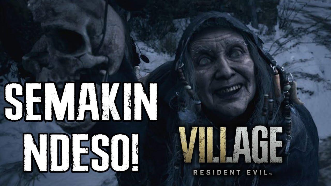 NENEK LAMPIR KENA VIRUS!   Breakdown Trailer Kedua Resident Evil: Village!
