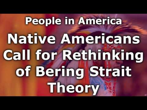 Native Americans Call for Rethinking of Bering Strait Theory