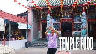 Eating At A Remote Temple Outside of Penang, Malaysia   Malaysian Food Treasures