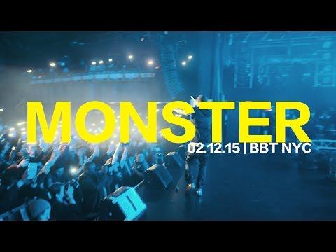 MEEK MILL PERFORMS MONSTER // BBT NYC 2.12.15 @willKNOWS