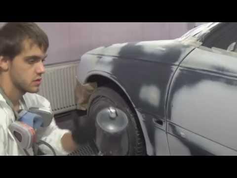Как покрасить авто акрилом в глянец