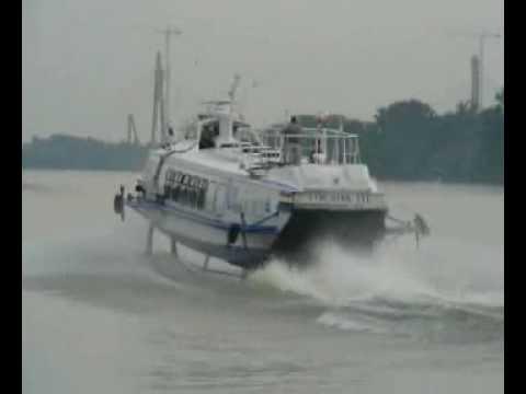 Hydrofoils on Danube, Hungary