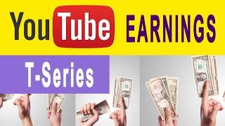 T-Series youtube earnings feb 2017(my personal estimation) thumbnail