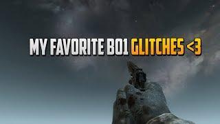 Black Ops 1 Glitches - My Favourite Zombie Glitches 2018 COD BO1 Zombie Glitches