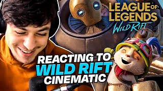 LL STYLISH | REACTING TO THE NEW WILD RIFT CINEMATIC