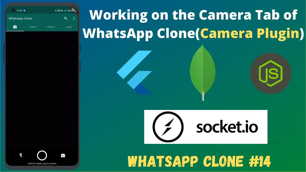 Flutter - Working on the Camera Tab of WhatsApp Clone(Camera Plugin) || WhatsApp Clone #14