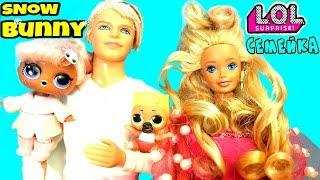 СЕМЕЙКА.СНОВ БАНИ.КУКЛА. ЛОЛ#КАПСУЛА#LOL .САЛОН КРАСОТЫ#Snow Bunny LOL Families Surprise Dolls