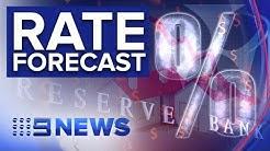 Economic slowdown could see rates fall to 0.5% | Nine News Australia