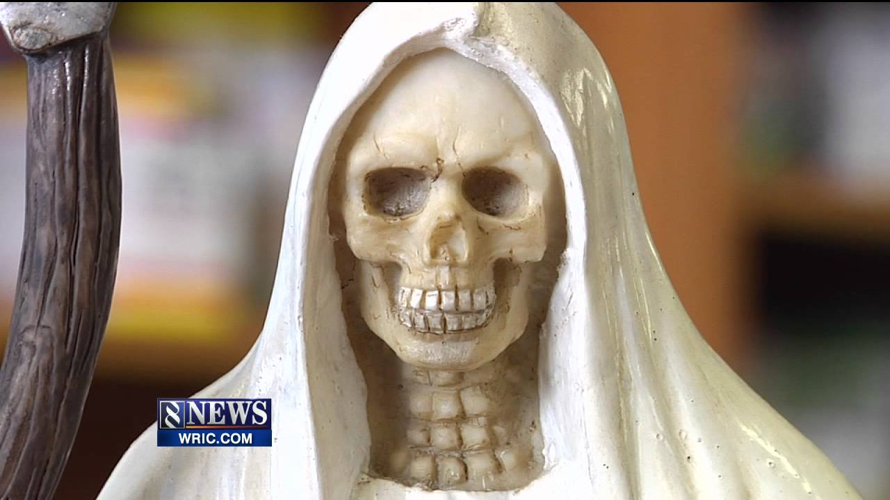 The Death Cult of Santa Muerte is gaining popularity inside