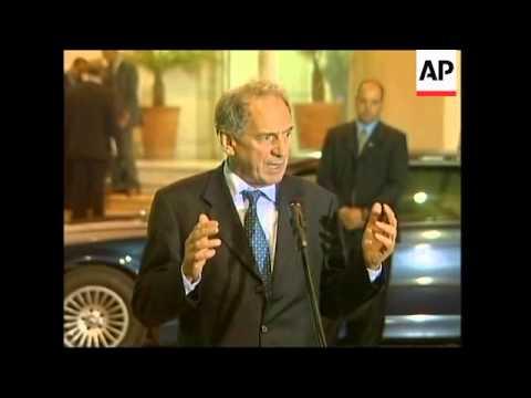 British Foreign minister Howells meets Abbas, Erekat, comments